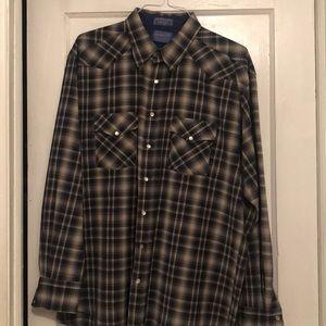 Pendleton Sir Pendleton Marino wool shirt